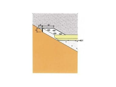 Frame and accessory for suspended ceiling ART. 4010
