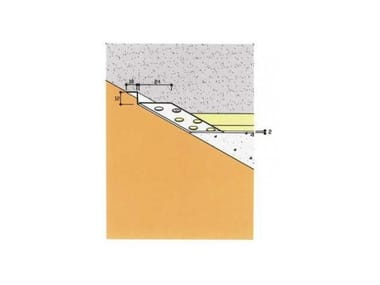 Frame and accessory for suspended ceiling ART. 4010.Z