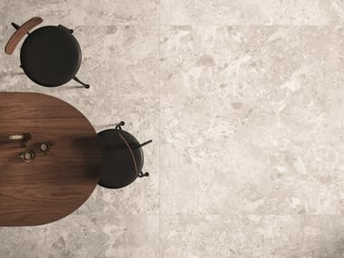 Porcelain stoneware wall/floor tiles with stone effect ARTEMIS WHITE
