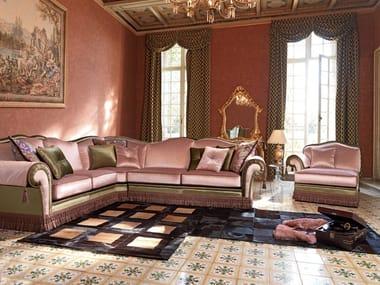Corner fabric sofa with removable cover ARTHUR | Corner sofa