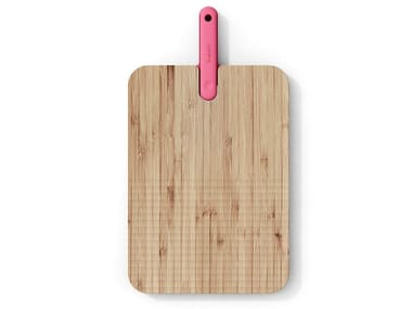 Tagliere in bambù con coltello da pane integrato ARTÙ | Tagliere in bambù