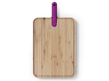Tagliere in bambù con coltello da chef integrato ARTÙ | Tagliere