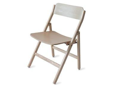 Folding ash chair FOLDING | Ash chair