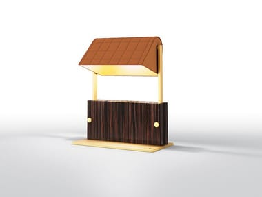 Lampe de table orientable en ébène ASTORIA | Lampe de table
