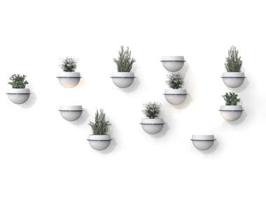 Vaso da parete in metallo ASTRA | Vaso da parete