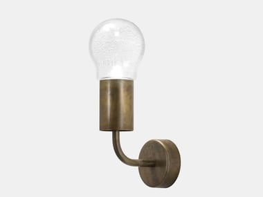 Brass wall lamp with fixed arm ASTRO 276.03.OOT