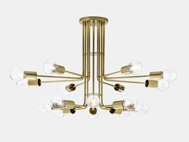 Brass ceiling lamp ASTRO 276.10.ONT