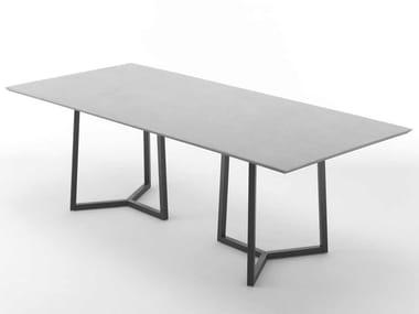 Tavolo rettangolare in ceramica ASTYLE | Tavolo