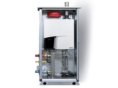 Floor-standing outdoor condensation boiler ATAG QMe