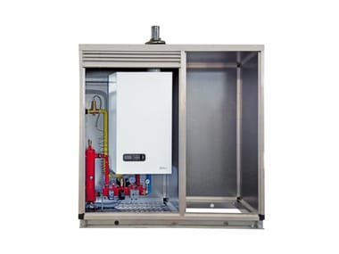 Built-in outdoor condensation boiler ATAG XLE2