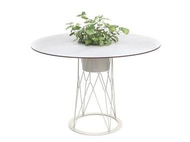Table de jardin ronde ATAMAN MESH | Table ronde
