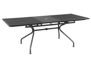 Extending steel garden table ATHENA | Garden table