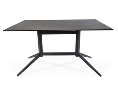 Rectangular drop-leaf fm-ceramtop table ATLANTIC | Rectangular table