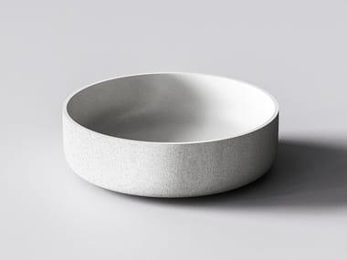 3D printed quartz sand washbasin ATLAS