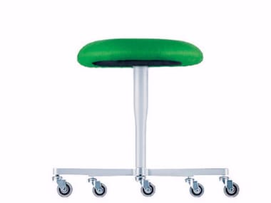 Swivel stool with casters ATLAS STOOL - 752
