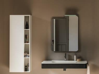 Rectangular wall-mounted bathroom mirror ATOLLO   Rectangular mirror