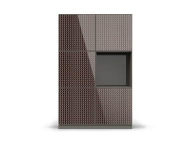 Armário de cozinha modular de MDF com portas ATTITUDE CB-1208 | Armário de cozinha