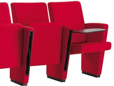 Auditorium seats with writing tablet AUDITORIUM | Auditorium seats with writing tablet