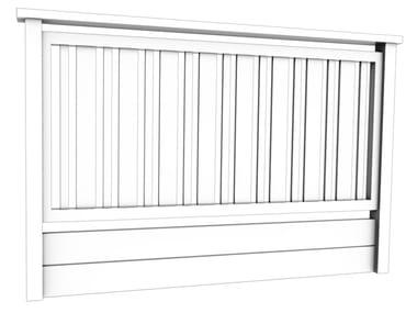 Aluminium balustrade AURA