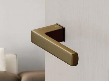 Poignée de porte en aluminium avec finition satin AUSTIN | Poignée de porte