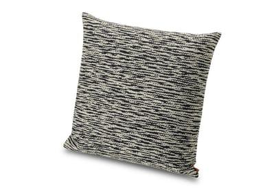 Cuscino in tessuto jacquard flame retardant effetto chiné AVARUA   Cuscino