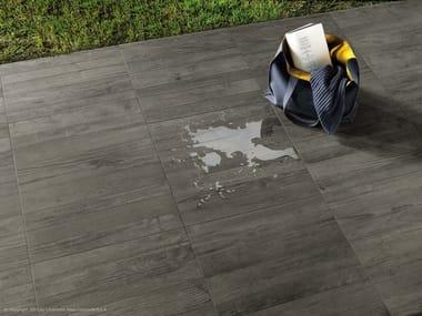 Pavimento per esterni in gres porcellanato effetto legno AXI | Pavimento per esterni in gres porcellanato