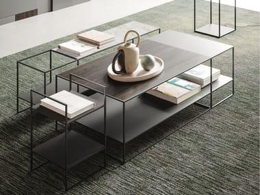 Modular metal coffee table AXIS