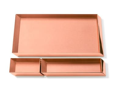 Copper desk set AXONOMETRY | Copper desk set