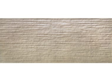 Double-fired ceramic wall tiles B-CONCRETE LINER TAUPE