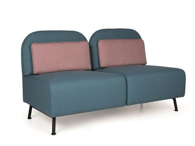 Modular fabric sofa B-CONNECT MP210