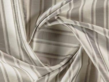 Striped jacquard washable synthetic fibre fabric BALMAIN