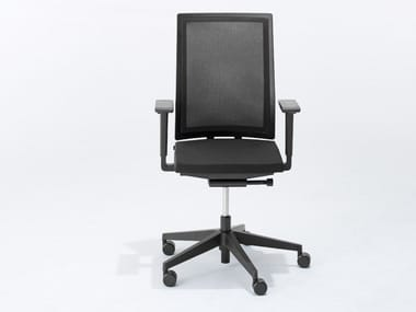 Swivel task chair with 5-Spoke base B_RUN