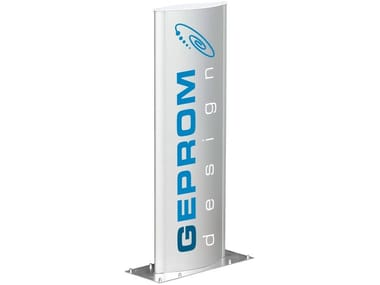 Double-sided display stand B-TOTEM-E