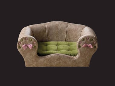 Eco-leather dogbasket FIFI