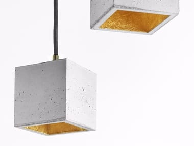 Direct light cement pendant lamp [B6]