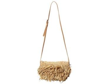 Raffia bag BAHAMAS PURSE