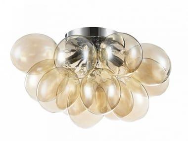 Glass ceiling lamp BALBO   Ceiling lamp