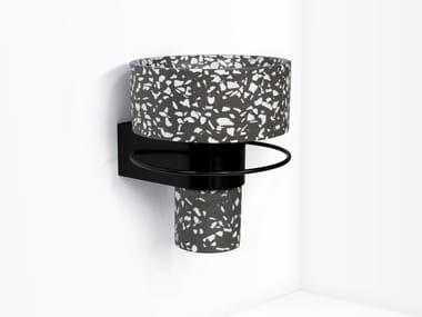 Wall-mounted cement washbasin BALCONY