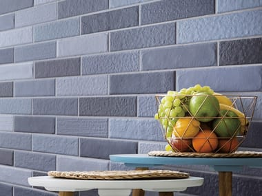 Porcelain stoneware wall/floor tiles with brick effect BALENE