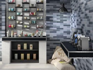 Porcelain stoneware wall/floor tiles with brick effect BALENE