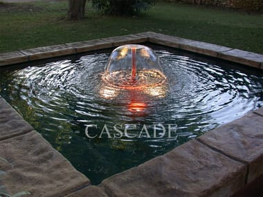 Fiberglass Floor fountain BALI