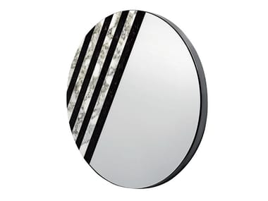 Wall-mounted marble mirror BALIN