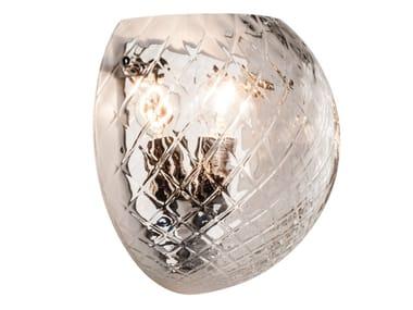 Blown glass wall light BALLOTON | Wall light