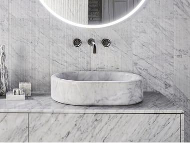 Vasque à poser en marbre BALNEA | Vasque à poser