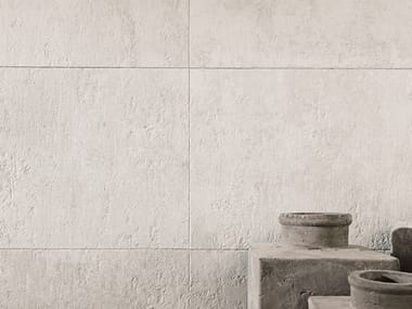 Wall/floor tiles with concrete effect BALTIMORE WHITE
