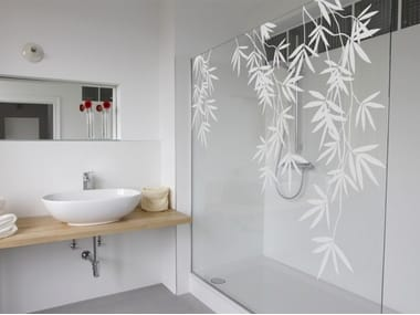 Wall sticker / window film BAMBOO FLORAL