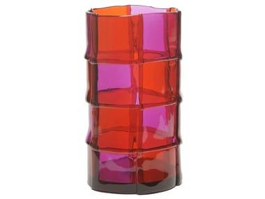 Vaso in resina BAMBOO L
