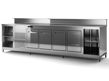 Stainless steel bar counter BAR COUNTERS