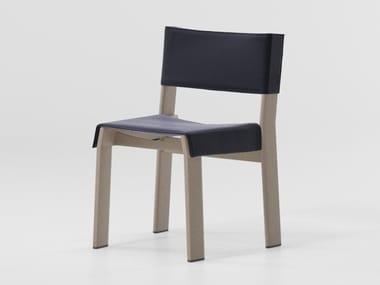 Stuhl aus Aluminium BAND | Stuhl aus Aluminium