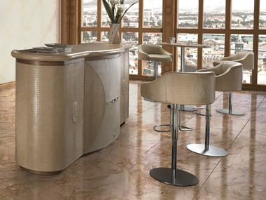 Leather bar counter LONDON | Bar counter